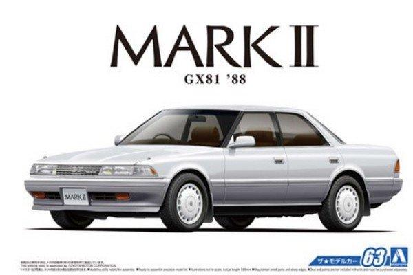 05484 Aoshima 1 24 Toyota Mark Ii 2 0 Grande Twincam 24
