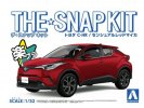 Aoshima 05637 - 1/32 Toyota C-HR (Sensual Red Mica) The Snap Kit 06-D