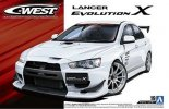 Aoshima 05320 - 1/24 C-West CZ4A Lancer Evolution X '07 The Tuned Car No.19