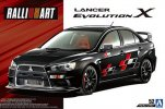 Aoshima 05544 - 1/24 Ralliart CZ4A Mitsubishi Lancer Evolution X 2007 The Tuned Car No.52