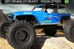 Axial AX90031 - 1/10th Scale Electric 4WD - Jeep Wrangler Wraith-Poison Spyder Rock Racer  - RTR