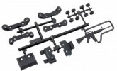 Axial Racing AX80100 - EXO Chassis Guard and Toe Block Insert Set (Front and Rear)