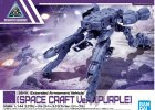 Bandai 5060768 - 30mm 1/144 Extended Armament Vehicle (SPACE Craft Ver.) Purple