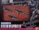 Bandai 196724 - 1/144 System Weapon 010 (Strike Bazooka ,Beam Rifle) Builders Parts HD