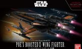 Bandai 219752 - 1/72 Poe\'s Boosted X-Wing Fighter Star Wars