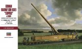 Hasegawa 31258 - 1/72 MT58 German Army Railway Gun K5(E) Leopold with Figure