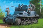Hobby Boss 80147 - 1/35 German Flakpanzer IA with Ammo.Trailer
