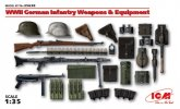 ICM 35638 - 1/35 Wwii German Infantry Weapons & Equipment