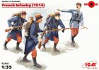 ICM 35682 - 1/35 French Infantry (1914), (4 figures)