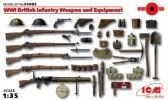 ICM 35683 - 1/35 WWI British Infantry Weapon and Equipment