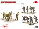 ICM 35690 - 1/35 WWI Eastern Front Hungarian/German/Russian-12 Figures