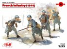ICM 35691 - 1/35 French Infantry (1916) (4 figures)