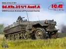 ICM 35101 - 1/35 Sd.Kfz.251/1 Ausf.A German Armoured Personnel Carrier