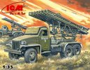 ICM 35512 - 1/35 BM-13-16N Wwii Soviet Multiple Launch Rocket System