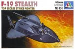 Italeri 0155 - 1/72 F-19 Stealth Top Secret Strike