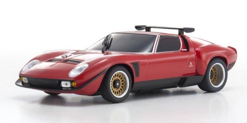 Mzp151r Kyosho Lamborghini Jota Svr Red Asc Mr 03n Rm