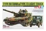 Tamiya #25186 - 1/35 JGSDF Type 90 Tank & Type 73 Light Truck Set