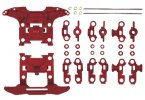 Tamiya #15411 - JR Reinforced N-04/T-04 Units - Red