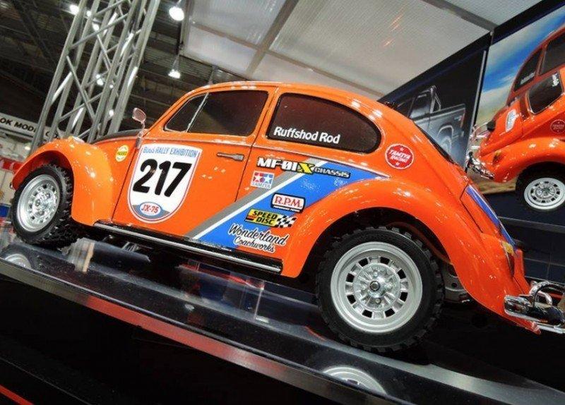 #58650 Tamiya - 1/10 Volkswagen Beetle Rally (MF-01X Chassis) VW
