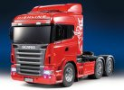Tamiya #23670 - 1/14 RC RTR Scania R620 6x4 Highline Tractor Truck Full Operation Finished Truck Red Limited Edition