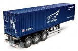 Tamiya #56330 - 1/14 RC 40ft Container Semi-Trailer - For RC Tractor Truck (NYK)