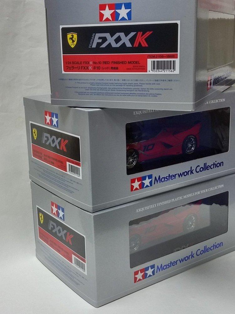 Tamiya 1//24 Master work collection No.156 Ferrari FXX K No.10 RED 21156