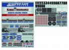 Tamiya #54844 - Marking Stickers for 1/14 RC On Road Race Truck